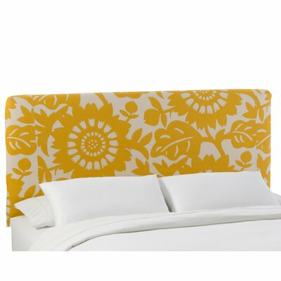 Skyline Furniture Slip Cover Gerber Cotton Upholstered Headboard