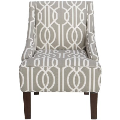 Swoop Upholstered Side Chair by Skyline Furniture
