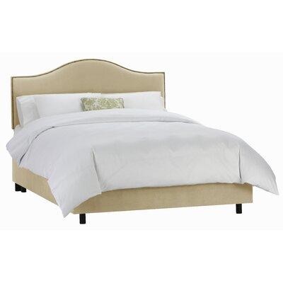 Skyline Furniture Velvet Panel Bed