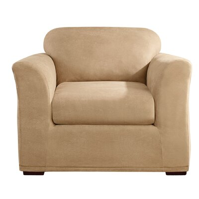 Stretch Leather Chair Slipcover by Sure Fit