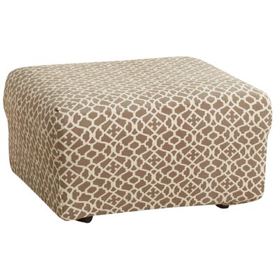 Stretch Ironworks Ottoman Slipcover by Sure Fit