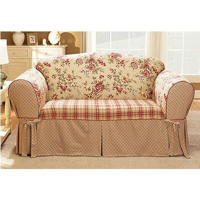 Sure Fit Lexington Loveseat Skirted Slipcover & Reviews