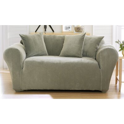 Sure-Fit Stretch Pique Loveseat Slipcover