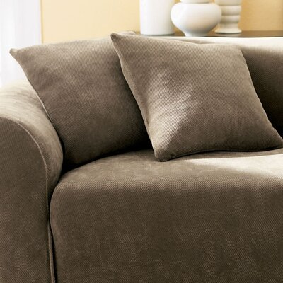 Stretch Pique Cotton Throw Pillow by Sure Fit