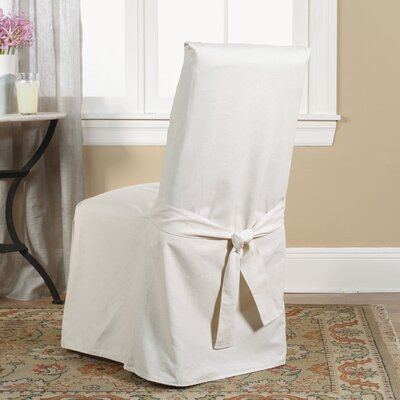 Sure Fit Cotton Duck Dining Chair Slipcover Amp Reviews