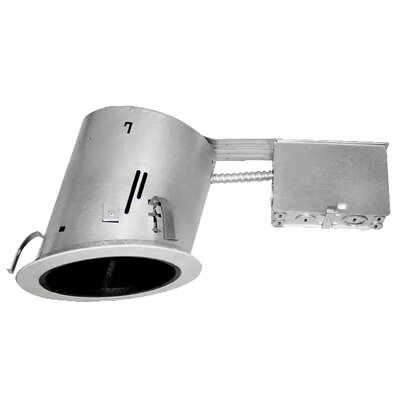 """IC Slope Ceiling Remodel 6"""" Recessed Housing Product Photo"""