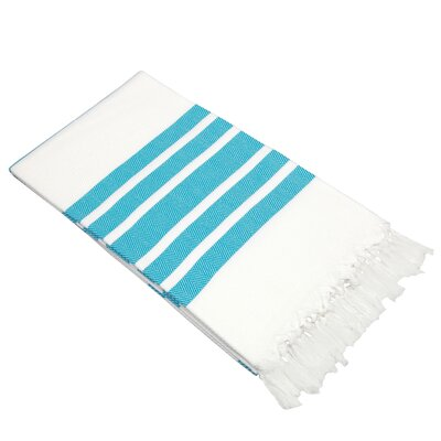 Herringbone Turkish Cotton Pestemal / Fouta Bath Towel by Linum Home Textiles