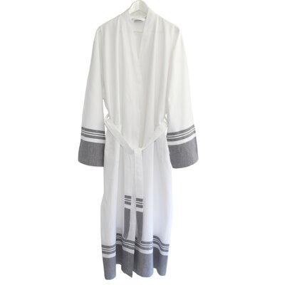 Big & Tall Unisex Super Luxe Pestemal Bathrobe by Linum Home Textiles