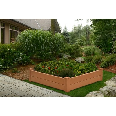 Chelsea Square Raised Garden Bed by New England Arbors