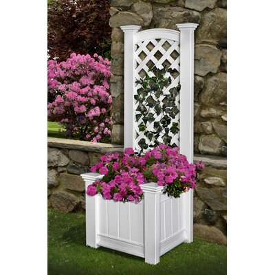 New England Arbors Eden Rectangular Raised Garden