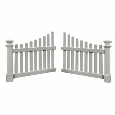 3.5' x 4' Cottage Picket Wings by New England Arbors