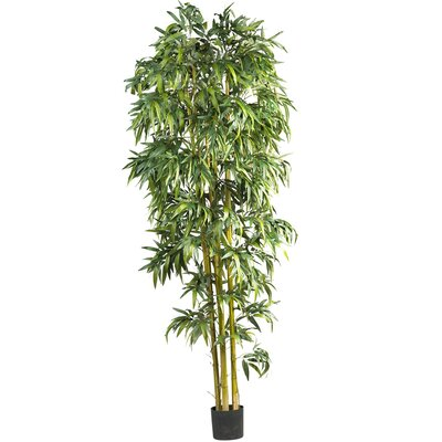 Biggy Style Bamboo Tree in Pot by Nearly Natural