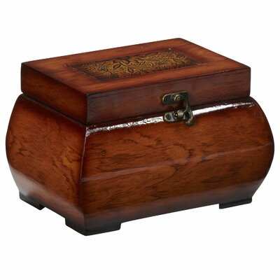 Decorative Lacquered Wood Chests by Nearly Natural
