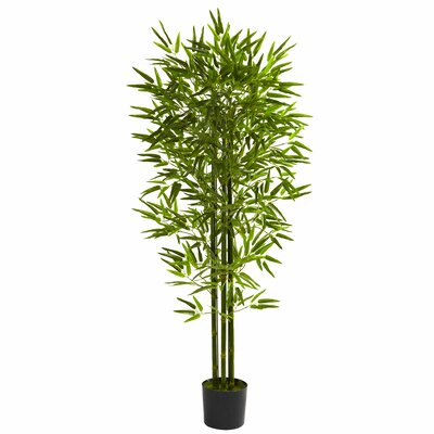 Bamboo Tree in Pot by Nearly Natural