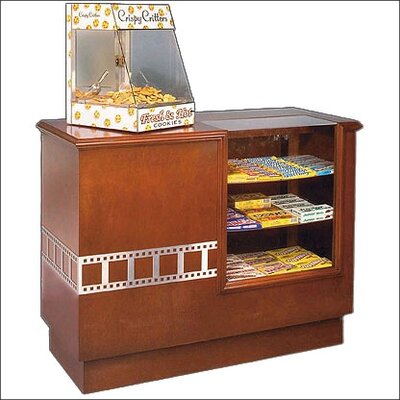 Bass Hardwood Concession Counter