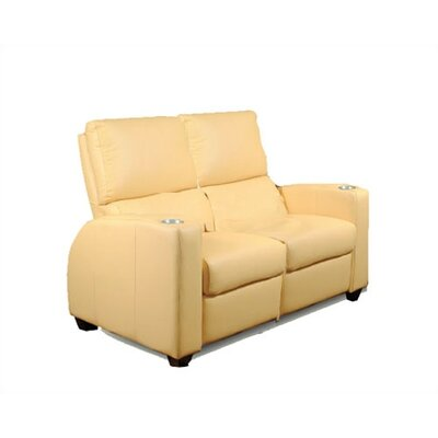 Deco Penthouse Home Theater Loveseat by Bass