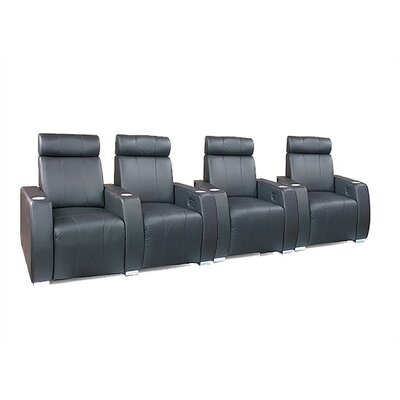 Executive Home Theater Seating Row of 4