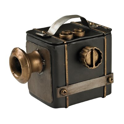 Camera Decorative Sculpture by Sterling Industries