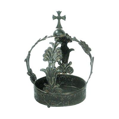 King George Crown Sculpture by Sterling Industries