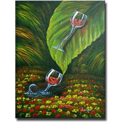 Jungle Slide Original Painting on Canvas by White Walls