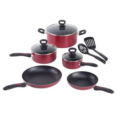 Mirro Get-A-Grip Aluminum 10-Piece Cookware Set