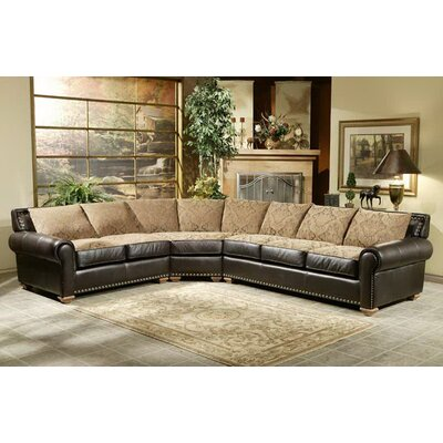 Vallarta Dreams Leather Sectional by Omnia Furniture