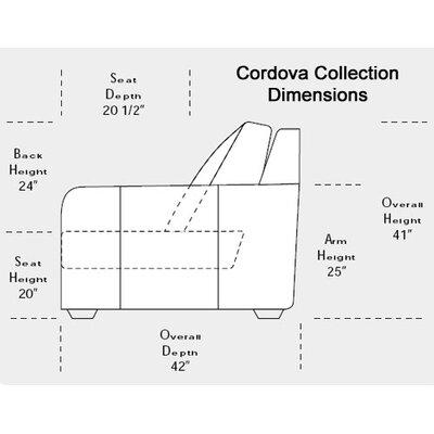 Omnia Furniture Cordova Leather Sleeper Sofa