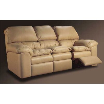 Catera Leather Reclining Sofa by Omnia Furniture