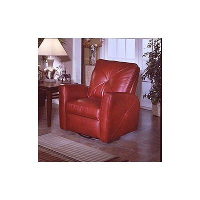 Bahama Leather Recliner by Omnia Furniture