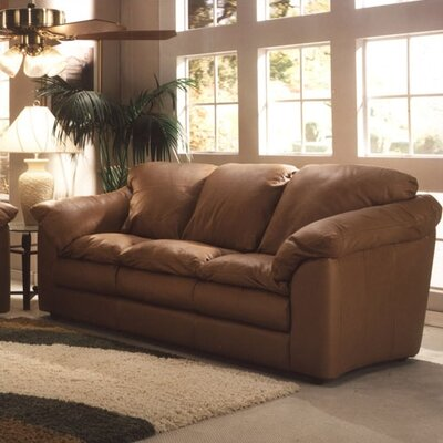 Oregon Leather Sofa by Omnia Furniture