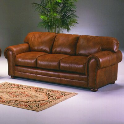 Winchester Cheyenne Leather Sofa by Omnia Furniture