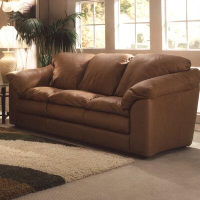 Oregon Leather Sofa by Omnia Furniture
