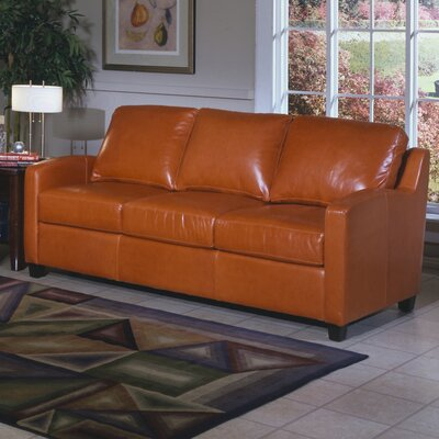 Chelsea Deco Leather Sofa by Omnia Furniture
