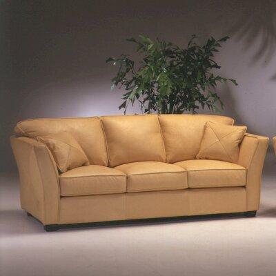 Manhattan Leather Sofa by Omnia Furniture