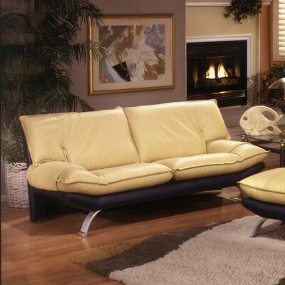 Princeton Leather Sofa by Omnia Furniture