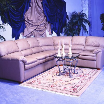 Vegas Leather Sectional by Omnia Furniture