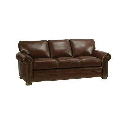 Omnia Furniture Savannah Leather Sofa