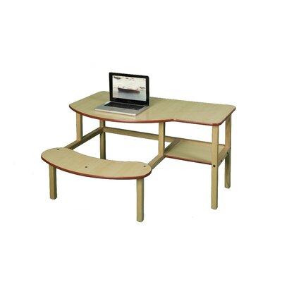 "Wild Zoo Pre-School 19"" Buddy Computer Desk"