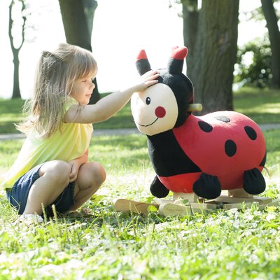 Lucy The Rocking Ladybug by Happy Trails