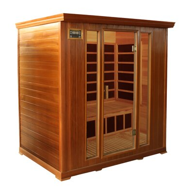 Crystal Sauna Family Series 4 Person Carbon FAR Infrared Sauna