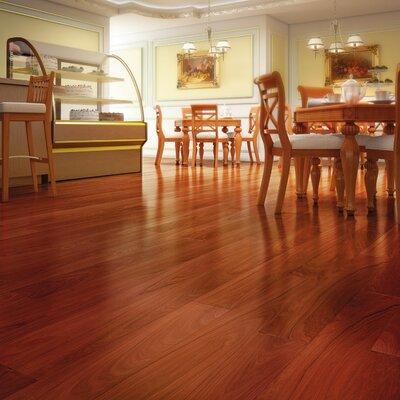 "IndusParquet 3"" Solid Brazilian Walnut Hardwood Flooring in Brown"