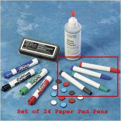 Draper Paper Pad Pens