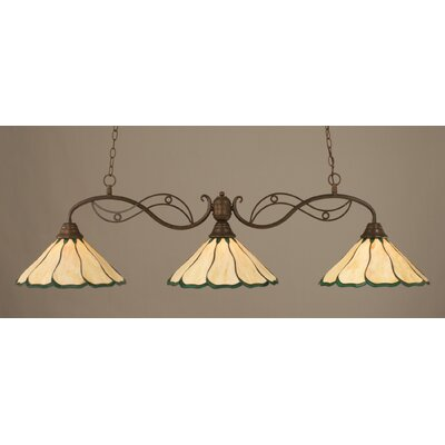 Jazz 3 Light Kitchen Island Pendant Product Photo