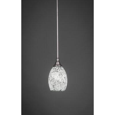 1 Light Stem Mini Pendant With Hang Straight Swivel Product Photo