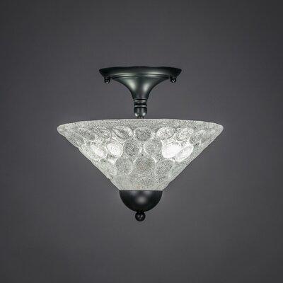 2 Light Semi Flush Mount Product Photo