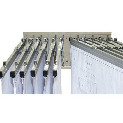 Adir Corp Pivot Wall Rack for Blueprints
