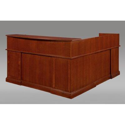 DMI Office Furniture Belmont Right L-Shape Reception Desk