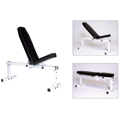 Front Back Adjustable Utility Bench by York Barbell