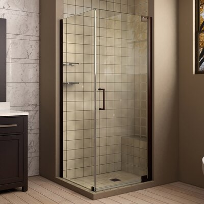"Elegance 72"" H x 34"" W x 34"" D Pivot Shower Enclosure with Hardware Product Photo"