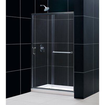 Frameless Sliding Shower Door Clear 1 4 Glass Door SHDR 0948720